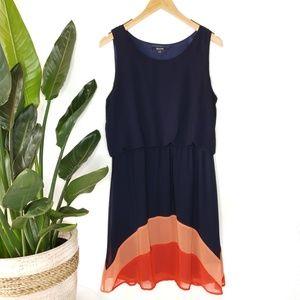 41Hawthorn StitchFix Navy Colorblock Dress XL